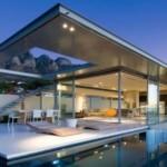 5. O locuinta amenajata intr-un stil minimalist, ultramodern.